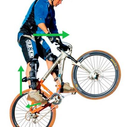 Как научиться делать банни, подготовка к трюку, техника выполнения прыжка на разных велосипедах, советы новичкам