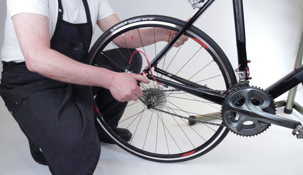 Как разобрать и собрать колесо велосипеда