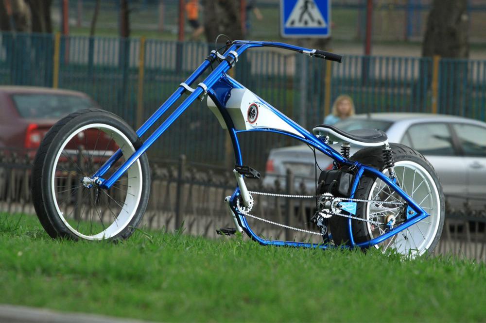 Как сделать самодельный велосипед своими руками?