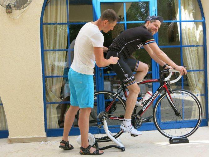 Велостанок для тренировок дома
