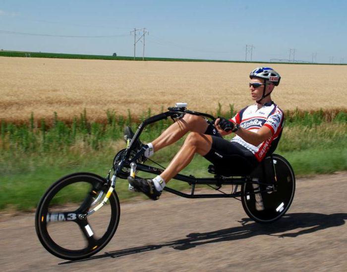 Лигерад (рикамбент)— лежачий велосипед. виды и классификация