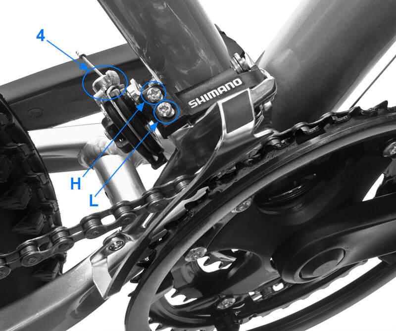 Порядок регулировки переключения скоростей на велосипедах тм shimano