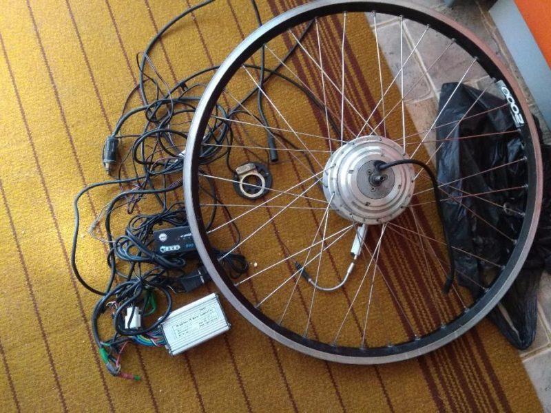 Электроколесо на велосипед, переднее и заднее, колесо мотор своими руками