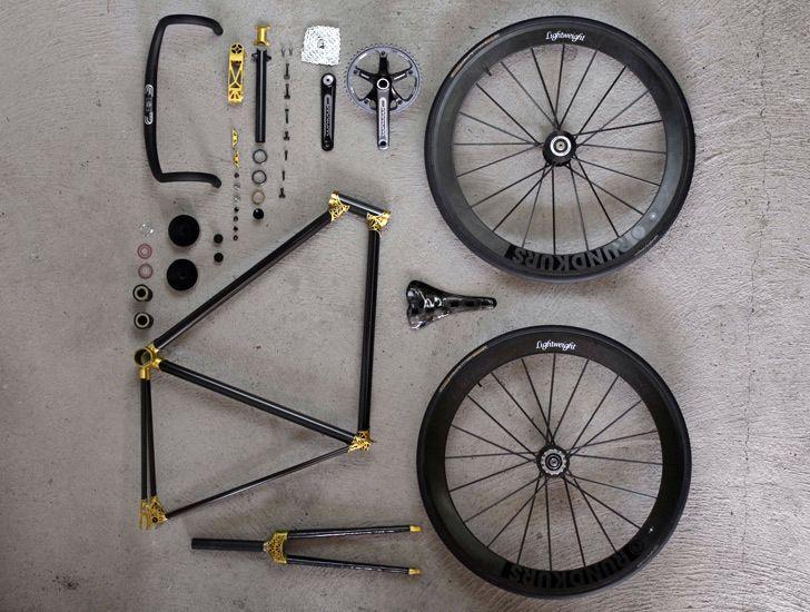 Как разобрать велосипед
