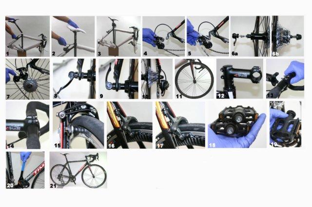 Сборка велосипеда