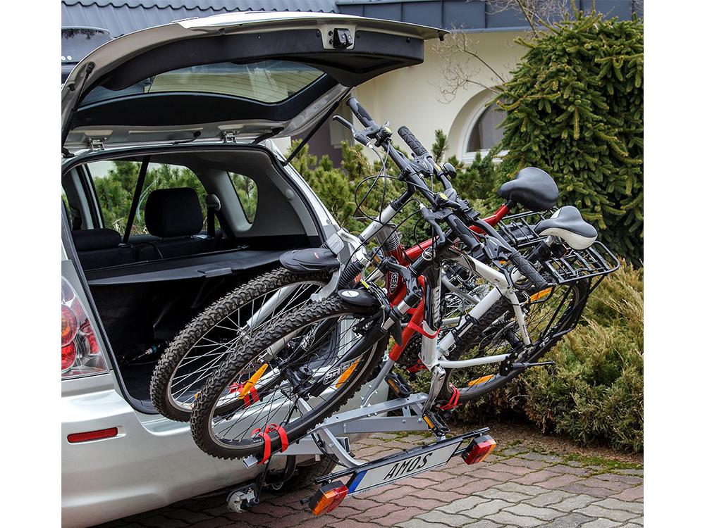 Самодельные устройства для перевозки велосипедов на машине