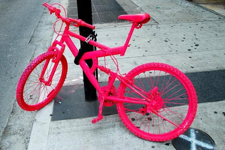 Как покрасить велосипед баллончиком дома: учимся красить правильно