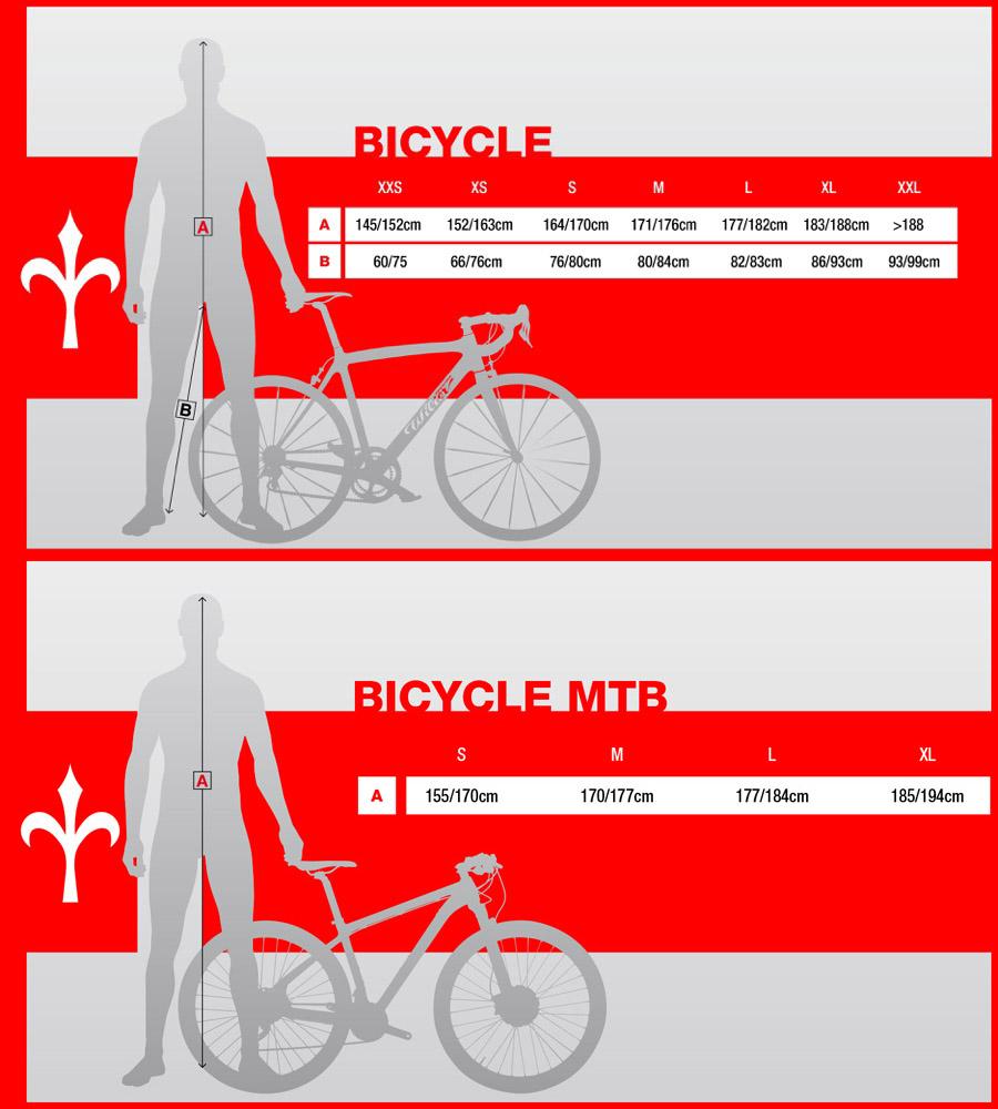 Ростовки велосипедов: таблица. как определить ростовку велосипеда