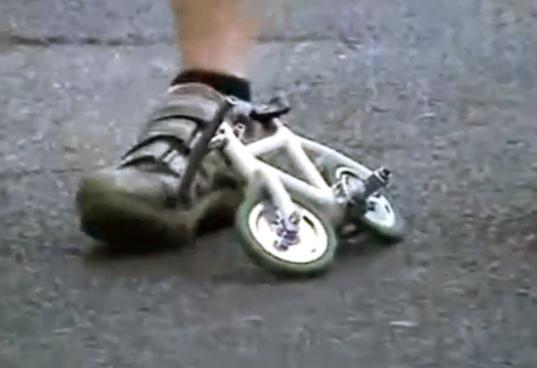 Какой самый маленький велосипед