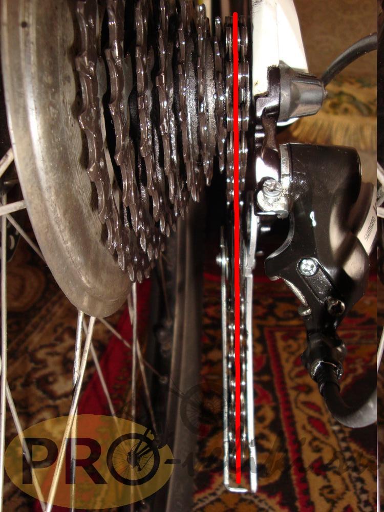 Регулировка заднего переключателя скоростей на велосипеде, настройка заднего переключателя