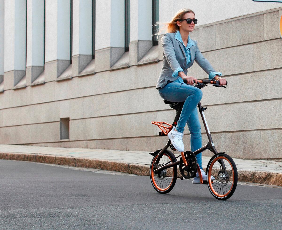 Как выбрать складной велосипед с маленькими колесами?