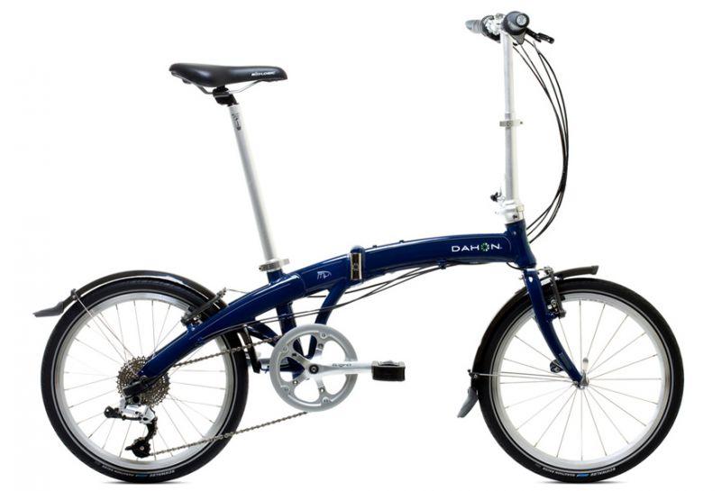 Едем с михой. обзор складного велосипеда dahon briza