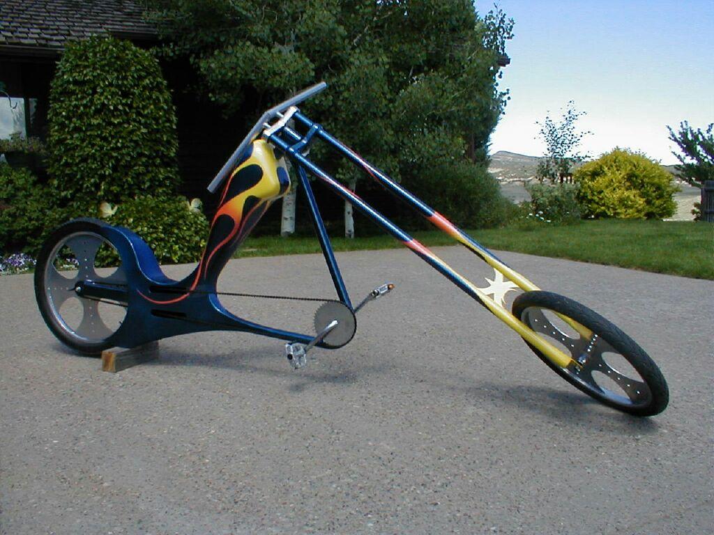Что такое кастомные  велосипеды (кастом) - круизеры, чопперы, лоурайдеры
