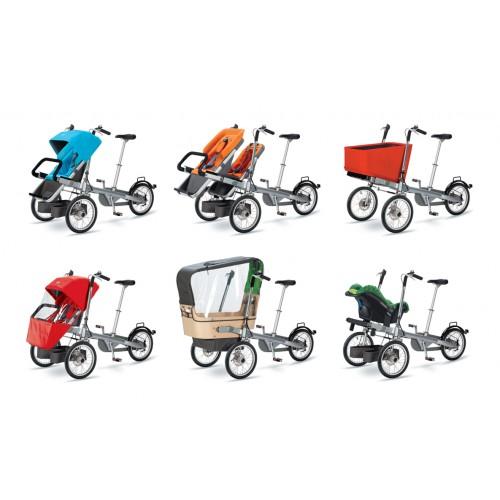 Детский велосипед коляска — это практичный выбор