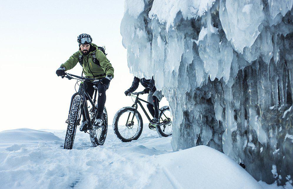 Особенности зимних велопрогулок