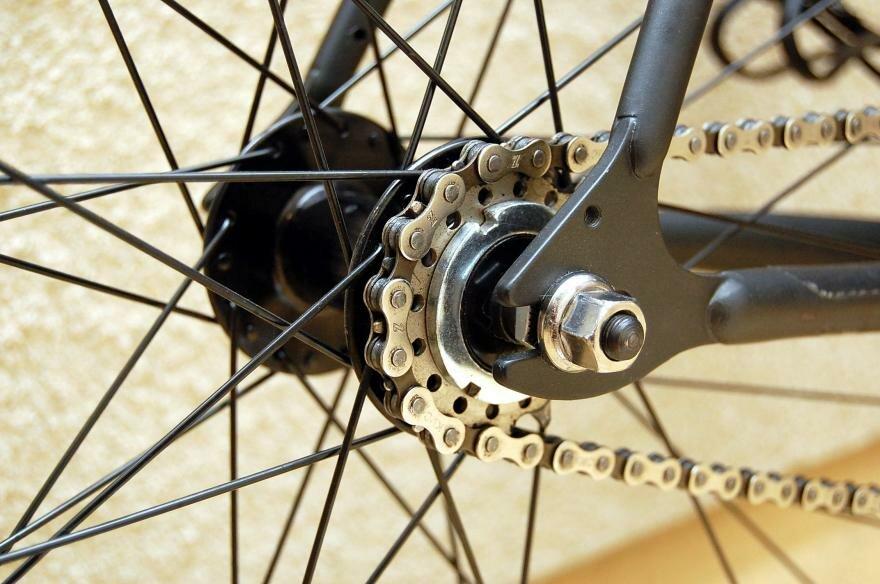 Фикс велосипед с фиксированной передачей (fixed gear bike)