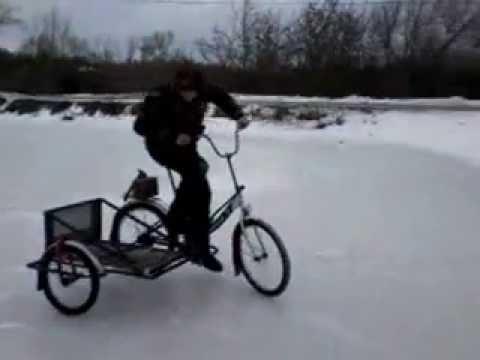 Как своими руками переделать обычный велосипед в трехколесную модель