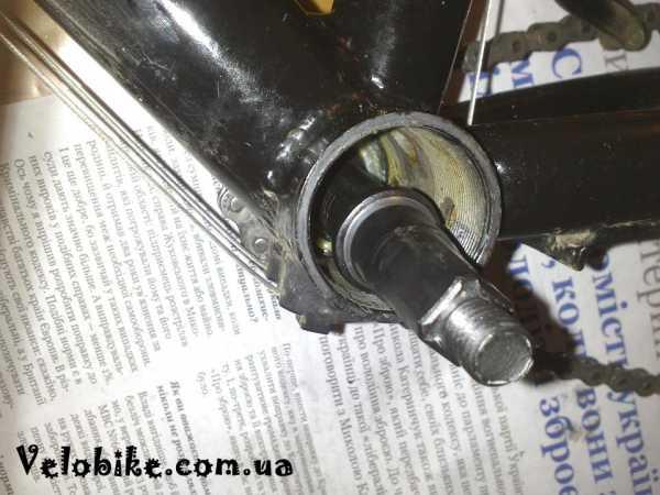 Как поставить каретку на велосипед
