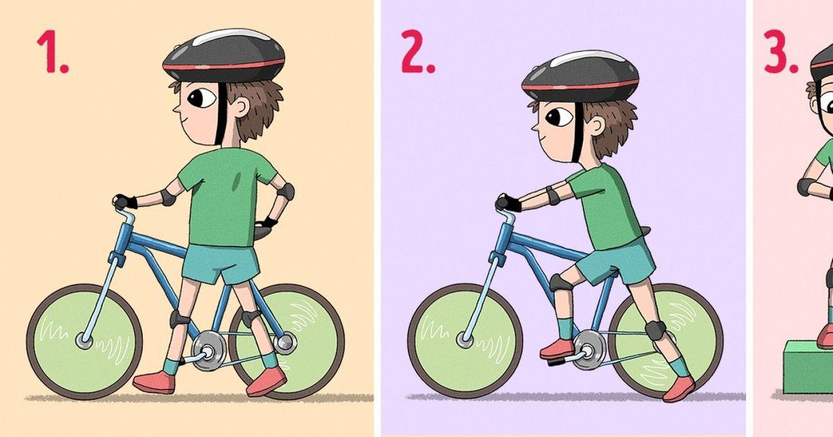 Как научить ребёнка кататься на двухколёсном велосипеде + видео и фото