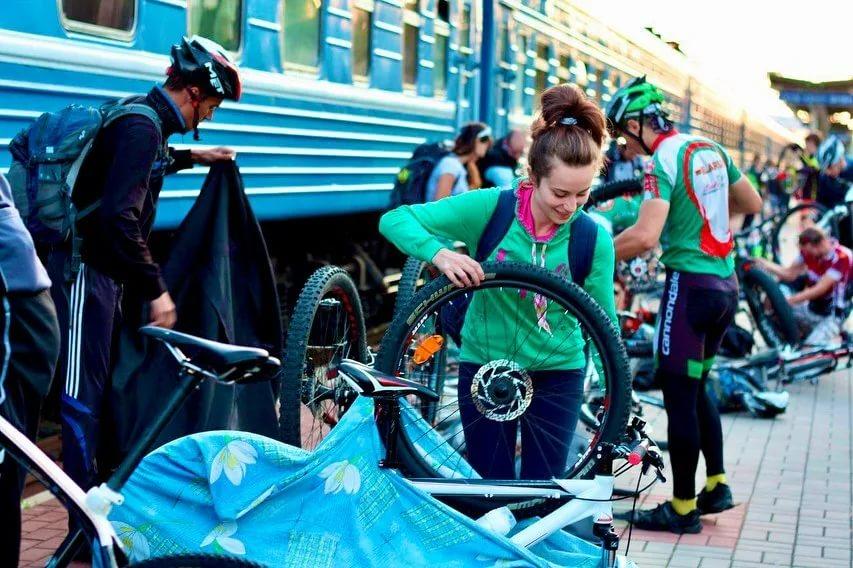 Перевозка велосипеда в поезде и электричке