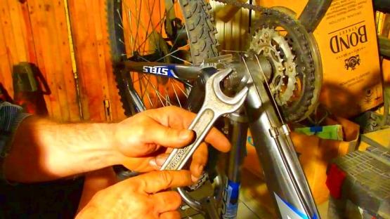 Как снять каретку с велосипеда