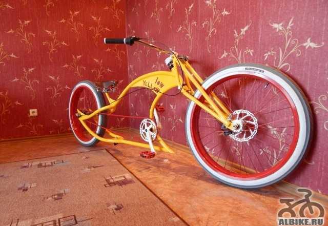 Кастом-велосипеды (сделанные своими руками и покупные)