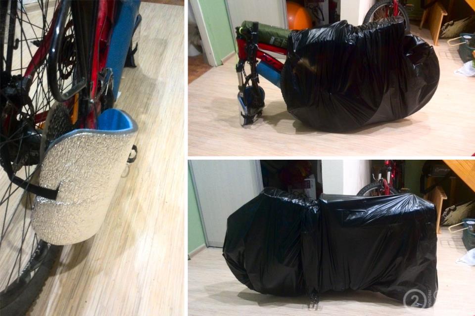 Перевозка велосипеда в самолете: как упаковать и перевезти байк