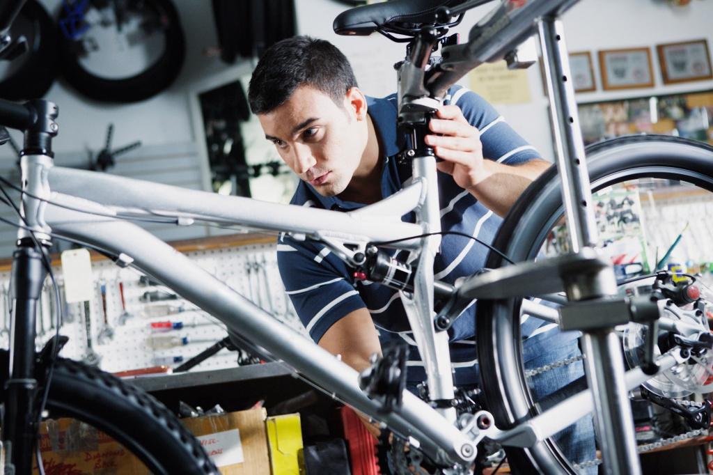 Обслуживание велосипеда: советы