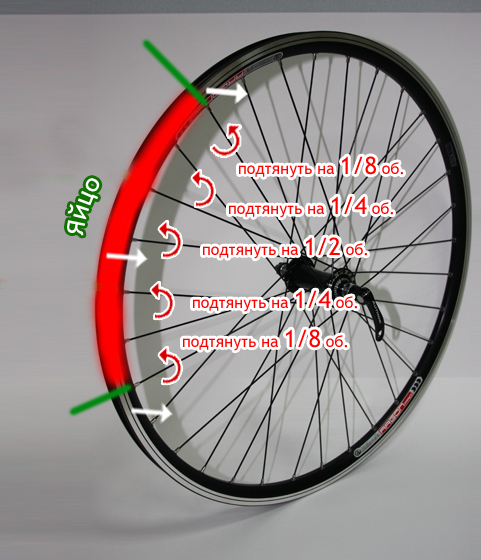 Как подтянуть спицы на велосипеде, инструменты, действия поэтапно