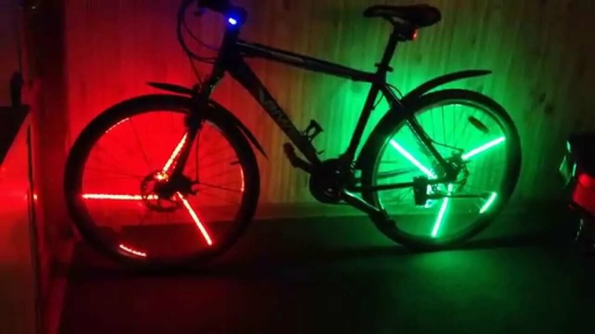 Варианты подсветки для велосипеда собственноручно