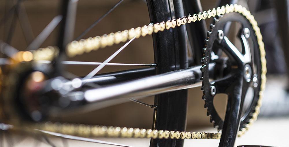 Как правильно натянуть цепь на велосипеде?