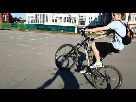 Как встать на заднее колесо на велосипеде - всё о велоспорте
