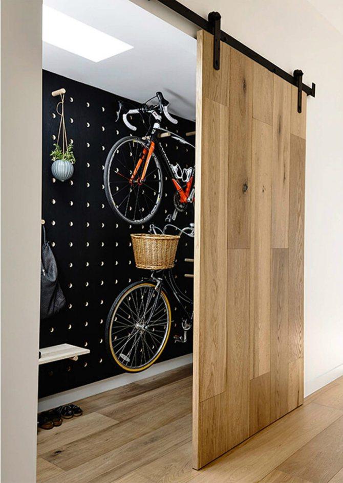 Тонкости хранения велосипедов