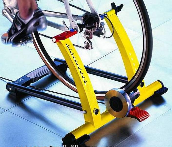 Как сделать из велосипеда самодельный тренажер » домашняя работа