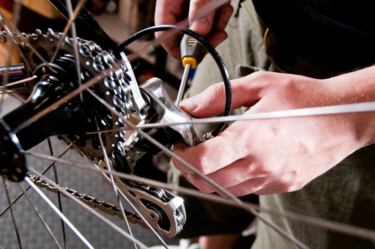Обслуживание велосипеда после зимы