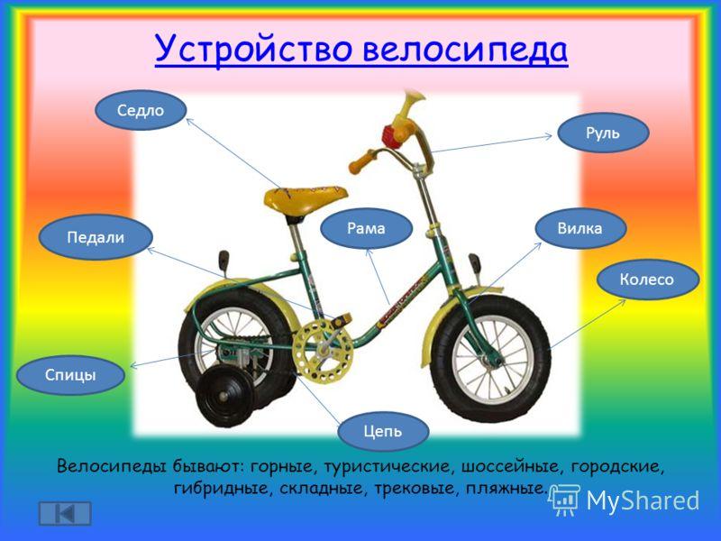 Устройство и типы передних вилок горных велосипедов