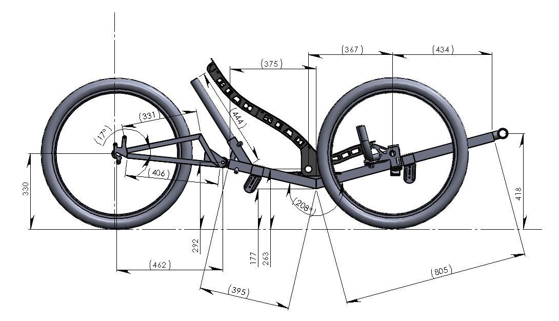Велотрайк своими руками чертежи — rollerbord