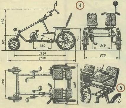 Самодельные велосипеды своими руками