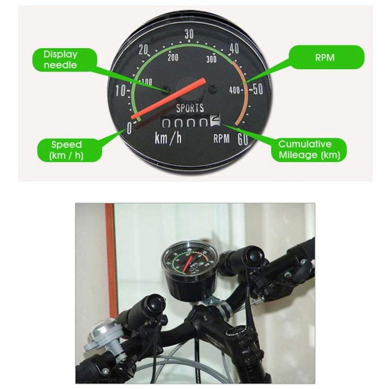 Как установить механический спидометр на велосипед
