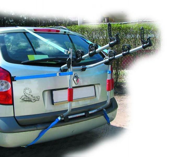 Багажник для велосипеда на заднюю дверь автомобиля: особенности и выбор