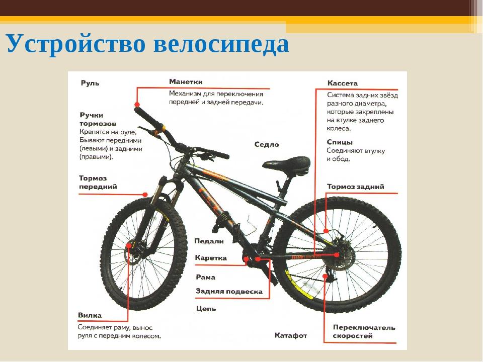 Как устроен велосипед?