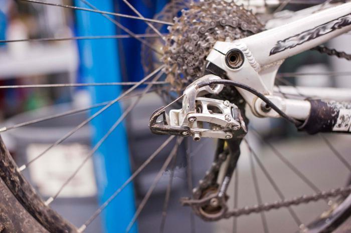 Как починить велосипед скоростной
