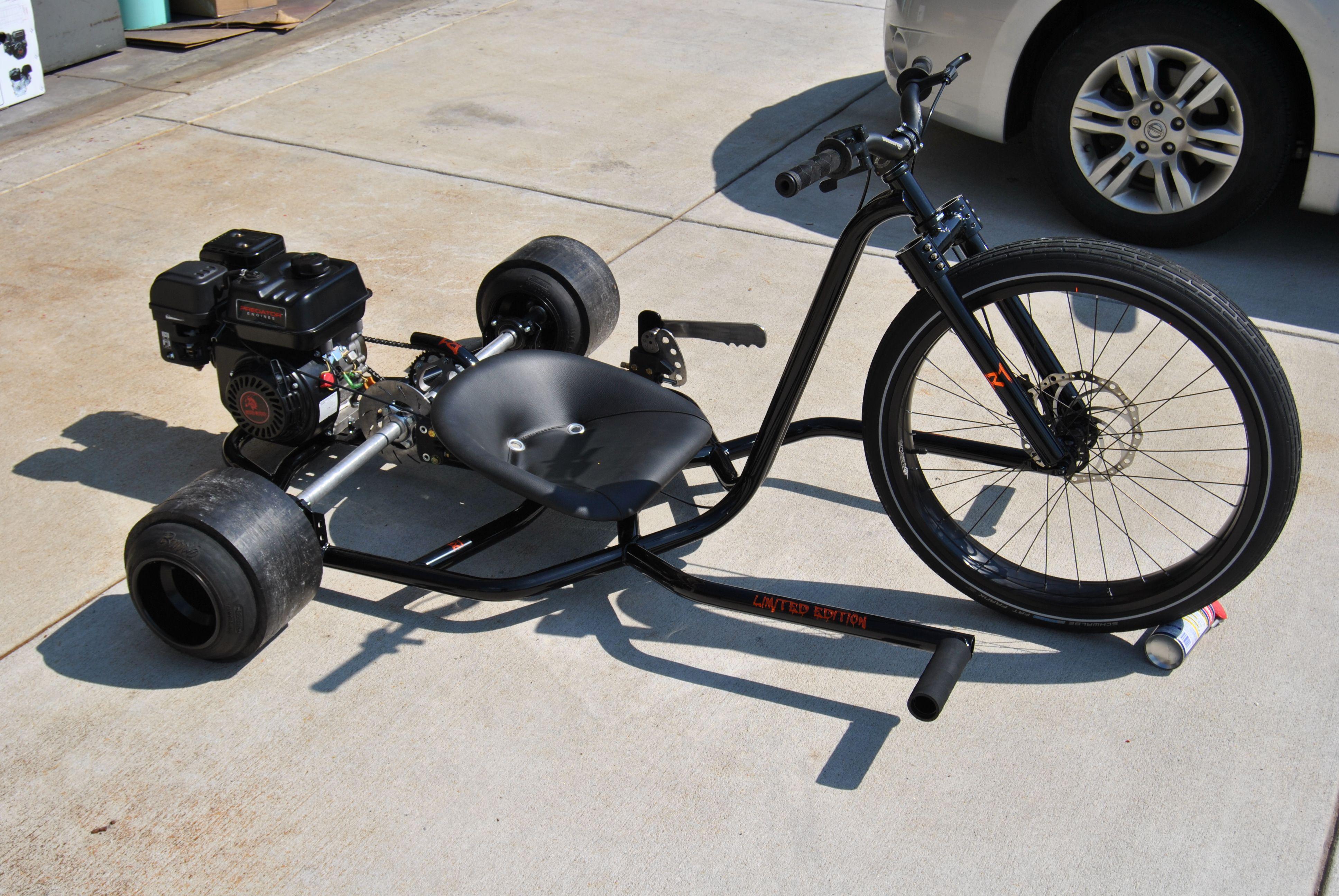 Дрифт трайк - велосипед для дрифта