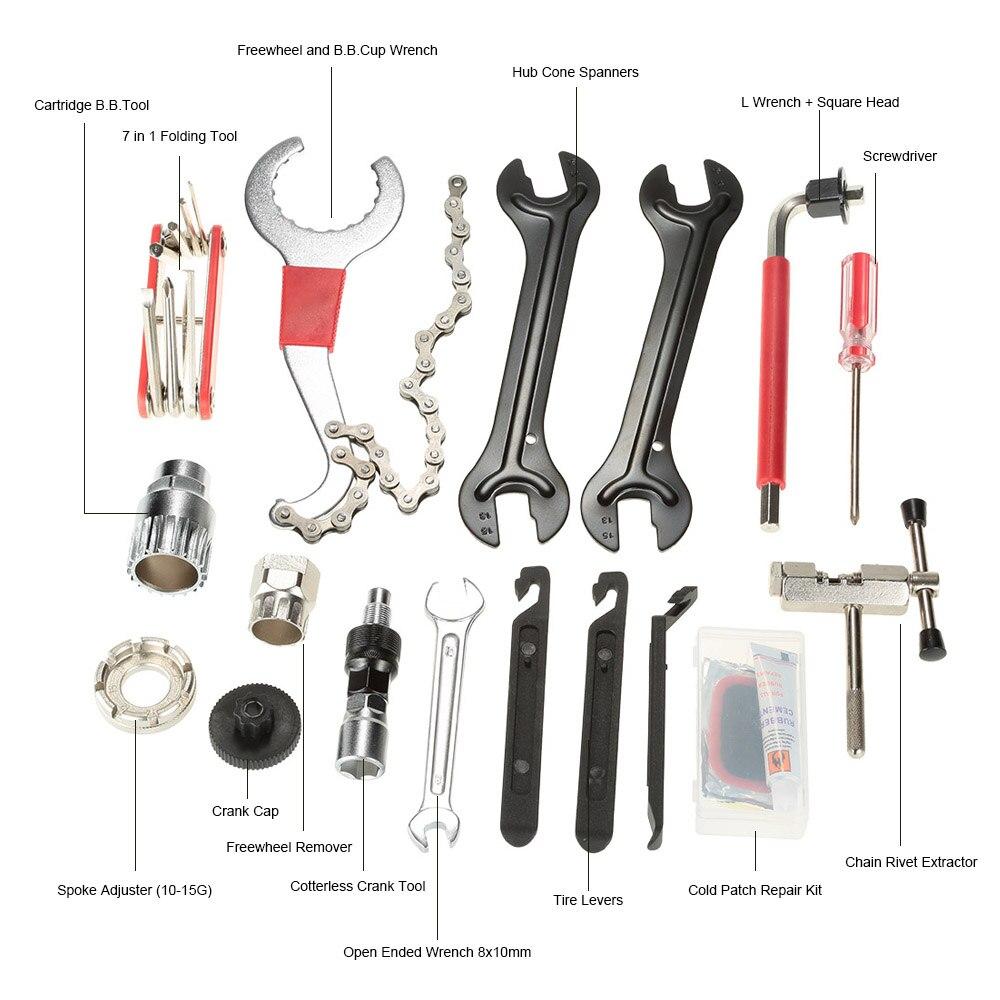 Инструменты для самостоятельного ремонта велосипеда | сайт котовского