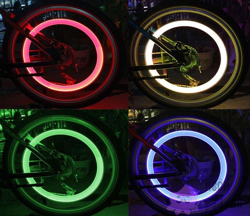 Подсветка велосипеда неоном или светодиодами - всё о велоспорте