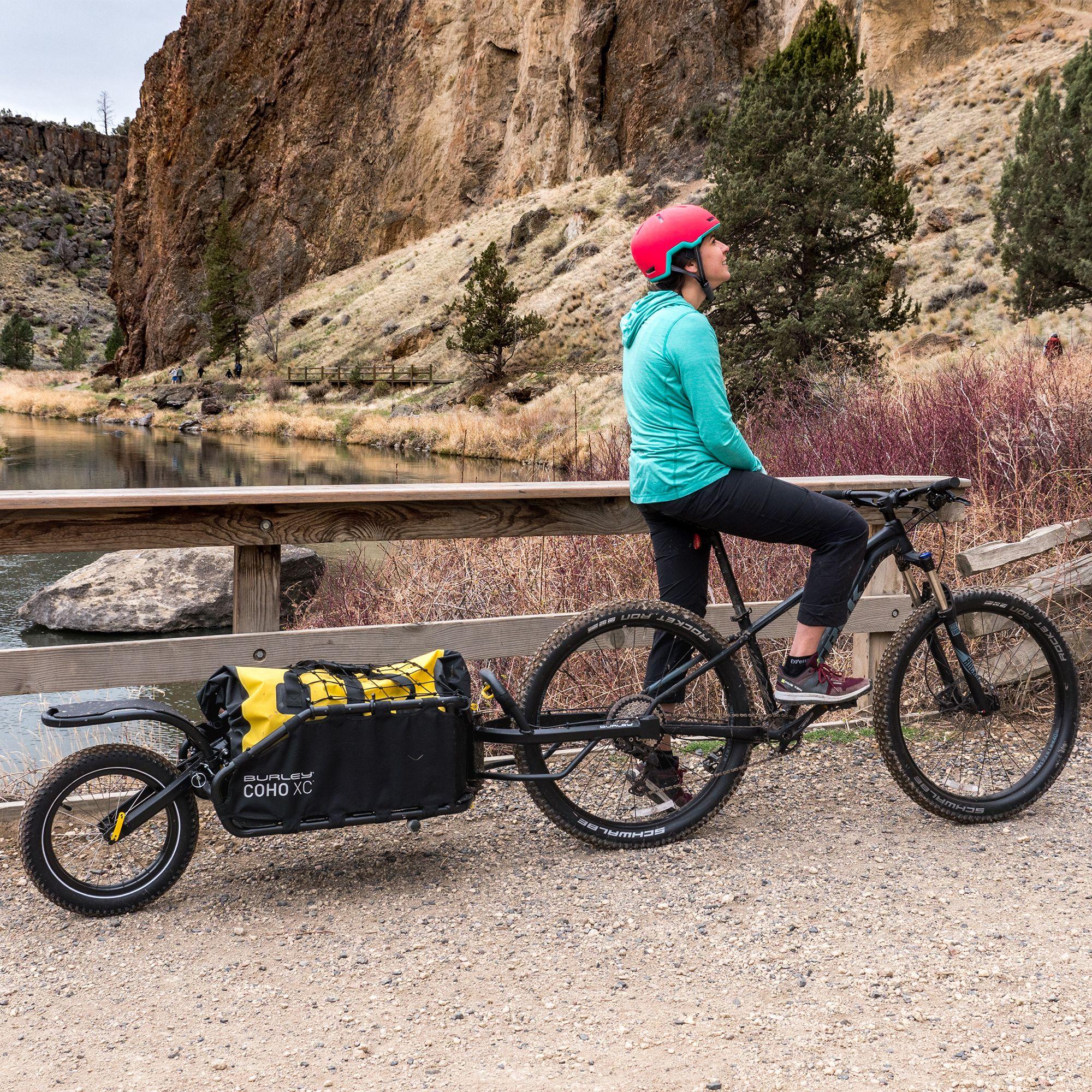 Прицеп для велосипеда для перевозки детей