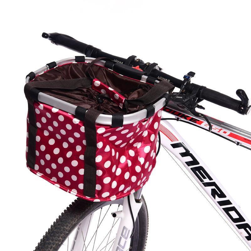 Какие бывают корзинки для велосипедов