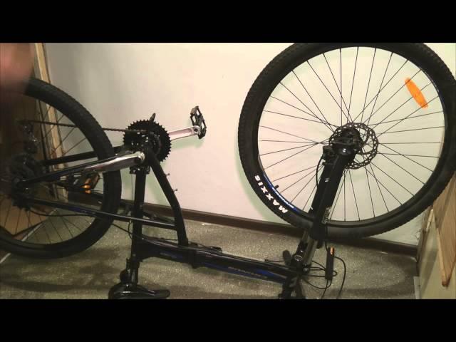Как сделать велосипед своими руками: рама, тормоза, сидение - видео инструкция