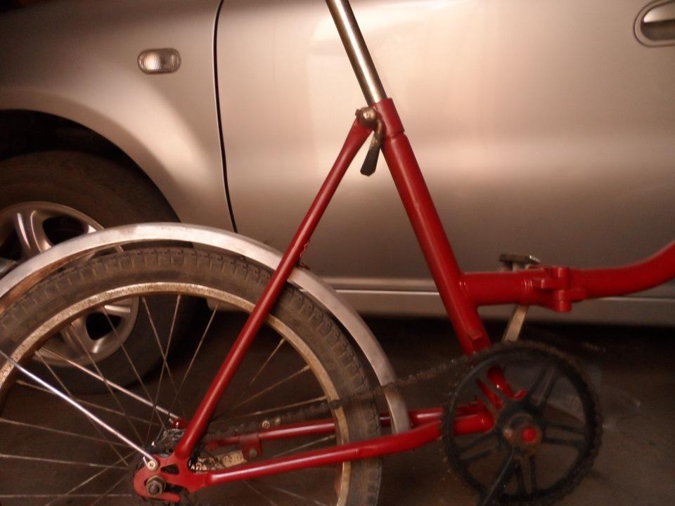 Как покрасить велосипед в домашних условиях