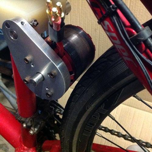 Электропривод на велосипед с аккумулятором в комплекте, самодельные приводы для колеса, видео